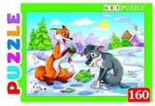Пазл Рыжий кот Artpuzzle Лиса и волок (ПА-4567), 160 дет.