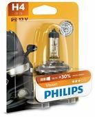 Лампа автомобильная галогенная Philips Vision 12342PRB1 H4 60/55W 1 шт.