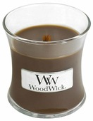Свеча WoodWick Amber & Incense, маленькая