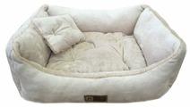 Лежак для кошек, для собак Зоогурман Версаль 55х50х12 см