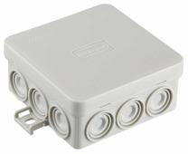 Распределительная коробка Ecoplast JBL085 наружный монтаж 85x85 мм