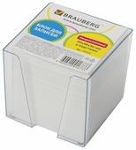 BRAUBERG Блок для записей в прозрачной подставке 9x9x9 см (122223/122225)