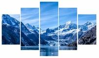 Модульная картина Ekoramka Горы зима