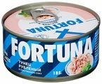 Fortuna Тунец рубленый в собственном соку, 185 г