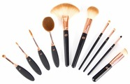 Набор кистей Rio The Makeup Artist's Professional Cosmetic Makeup Brush Collection, 10 шт.