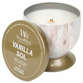 Свеча WoodWick Vanilla Sol в чаше (77661), средняя
