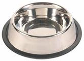 Миска TRIXIE 24851 с резинкой для собак 450 мл