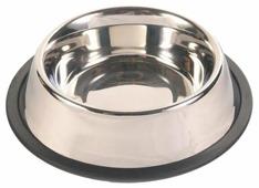 Миска TRIXIE 24851 с резинкой для собак 0.45 л