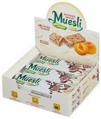 Злаковый батончик Muesli plus в шоколадной глазури Шоколад, 6 шт