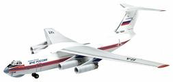 Сборная модель ZVEZDA Российский транспортно-десантный самолет Ил-76ТД МЧС России (7029) 1:144