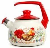 METROT Чайник со свистком Золотой Петушок 2681 2.5 л