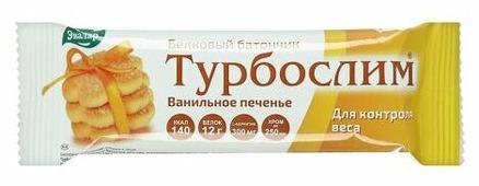 Протеиновый батончик Эвалар Ванильное печенье 60 г