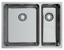Врезная кухонная мойка OMOIKIRI Tadzava 58-2-U/IF IN-L 58х44см нержавеющая сталь