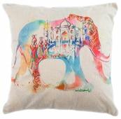 Чехол для подушки Pastel Розовый слон 45х45 см (1315511)