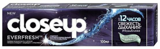 Зубная паста CloseUp Everfresh леденящий эвкалипт