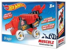 Конструктор Bauer Hot Wheels 713 Musculz Drago