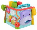 Интерактивная развивающая игрушка Fisher-Price Обучающий игровой кубик (GHT89)