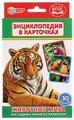 Набор карточек Умка Умные игры Животные мира 16x10 см 30 шт.