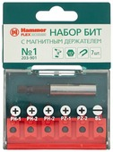 Бита Hammer 203-901 No1 (7 шт)