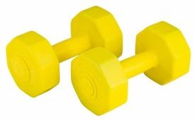 Набор гантелей цельнолитых ATEMI AD-02-3 2x1.5 кг