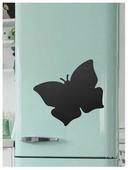 Доска на холодильник меловая Doski4you Бабочка (29х39 см)