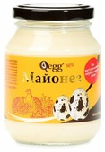 Майонез QEGG на перепелиных яйцах 50%