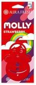 AURA FRESH Ароматизатор для автомобиля Molly Strawberry