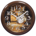 Часы настенные кварцевые Алмаз H56