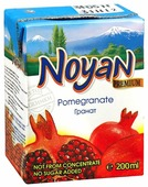 Сок Noyan Гранат, без сахара