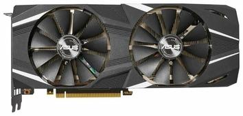 Видеокарта ASUS GeForce RTX 2080 Ti 1350MHz PCI-E 3.0 11264MB 14000MHz 352 bit HDMI HDCP Dual Advanced