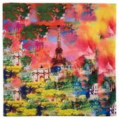 Чехол для подушки Gift'n'Home Краски Парижа 40х40 см (НВЛ-40 Paris(g))