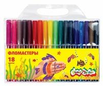 Каляка-Маляка Фломастеры 18 шт. (ФКМ18)