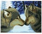 Белоснежка Набор для вышивания Два волка 59,7 x 47,3 см (7560-PK)