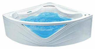 Ванна POOLSPA ORCHIDEA 150x150 TITANIUM акрил угловая
