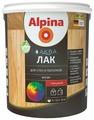 Лак Alpina Аква для стен и потолков глянцевый (0.9 л)