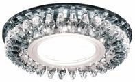 Встраиваемый светильник Ambrella light S220 CH, хром/прозрачный