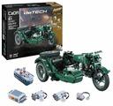Электромеханический конструктор Double Eagle CaDA deTECH C51021W Мотоцикл