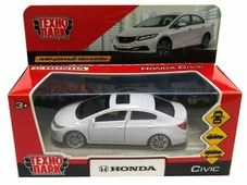 Легковой автомобиль ТЕХНОПАРК Honda Civic (CIVIC-WT/RD/SL) 12 см