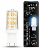 Лампа светодиодная gauss 107309203, G9, JCD, 3Вт
