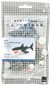 Конструктор Nanoblock Miniature NBC-082 Большая белая акула