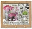 Вешалка Gift'n'Home для полотенец Парижские цветы 3 крючка