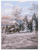 "Белоснежка Картина по номерам ""Зимний день"" 30х40 см (192-AS)"