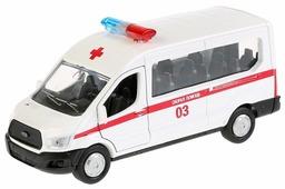 Микроавтобус ТЕХНОПАРК Ford Transit Скорая помощь (SB-18-18-A-W-WB/SB-18-18-A-Y-WB) 12 см