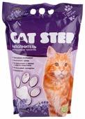 Впитывающий наполнитель Cat Step Силикагелевый с ароматом лаванды 3.8 л