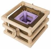 Ящик Дарите счастье набор 3в1 Поздравляю 10×10×10, 15×15×11, 20×20×13 см