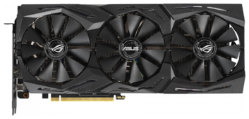 Видеокарта ASUS GeForce RTX 2070 1410MHz PCI-E 3.0 8192MB 14000MHz 256 bit 2xHDMI 2xDisplayPort HDCP Strix Advanced Gaming