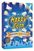 Попкорн Happy Corn Солёный в коробке в зернах, 100 г