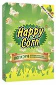 Попкорн Happy Corn Яблоко и корица в коробке в зернах, 100 г