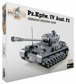 Конструктор Город Игр BrickBattle GI-6744 Танк Pz IV