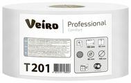 Туалетная бумага Veiro Professional Comfort T201 белая однослойная